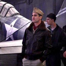 Midway: Darren Criss in una scena del film