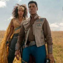 Star Wars: L'Ascesa di Skywalker, John Boyega e Naomi Ackie in una foto del film