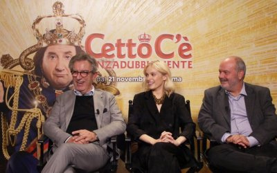 Cetto c'è, senzadubbiamente: video intervista a Giulio Manfredonia, Caterina Shulha e Gianfelice Imparato