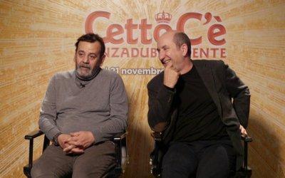 Cetto c'è, senzadubbiamente: video intervista a Antonio Albanese e Nicola Rignanese