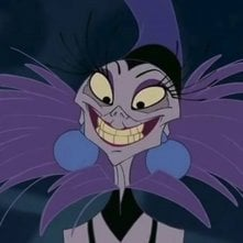 Yzma nel film Disney Le follie dell'imperatore