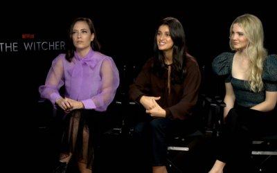 The Witcher: la nostra intervista a Freya Allan, Anya Chalotra e Lauren S. Hissrich
