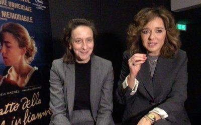 Ritratto della giovane in fiamme: intervista a Céline Sciamma e Valeria Golino