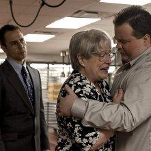 Richard Jewell: Paul Walter Hauser , Kathy Bates e Sam Rockwell in una scena del film