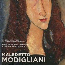 Locandina di Maledetto Modigliani