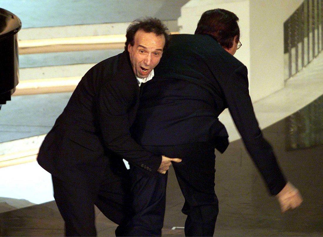 Roberto Benigni Pippo Baudo 2