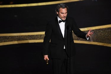 Joaquin Phoenix Oscars 2020 Premio