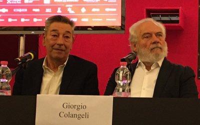 Lontano lontano, Gianni Di Gregorio e Giorgio Colangeli pensionati in fuga a Torino 2019