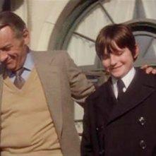 La maledizione di Damien: una scena con William Holden e Jonathan Scott-Taylor