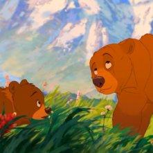 Koda, fratello orso: un'immagine del film