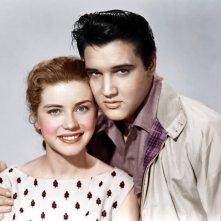 Dolores Hart con Elvis Presley