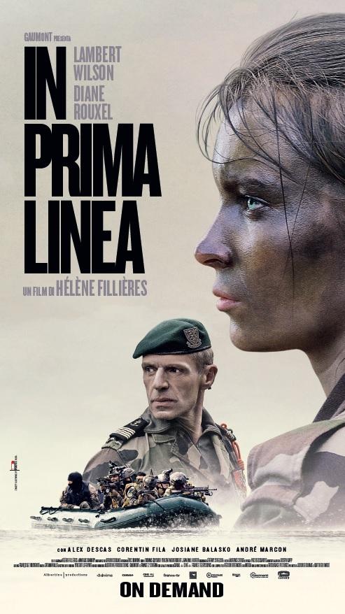 In Prima Linea Una Donna In Marina Kmoxcn1