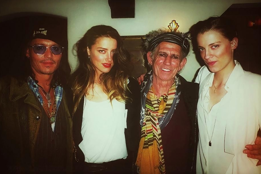 Johnny Depp Amber Heard Kate Richards Foto