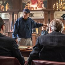 The Trial of the Chicago 7: Aaron Sorkin sul set
