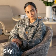 We Are Who We Are: Alice Braga (Maggie) in un'immagine della serie Sky