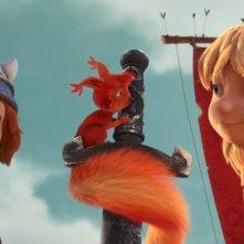 Vic il Vichingo e la Spada Magica: una scena del film d'animazione