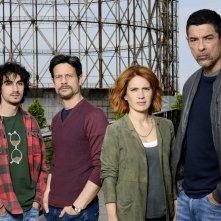 Io ti cercherò: un'immagine promozionale con i protagonisti della serie