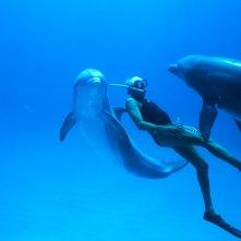 L'uomo delfino: una sequenza del film