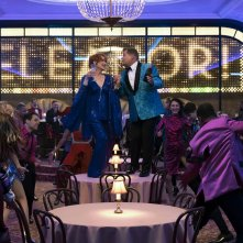 The Prom: Meryl Streep e James Corden in una foto del film