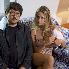 Lockdown all'italiana: una scena con Ricky Memphis e Martina Stella