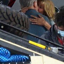 Jurassic World: Dominion, Sam Neill e Laura Dern nella scena del bacio