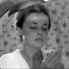Jules e Jim: Jeanne Moreau in una scena del film