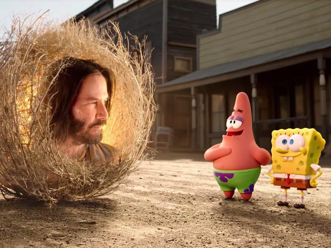 Spongebob Movie Amici In Fuga 2