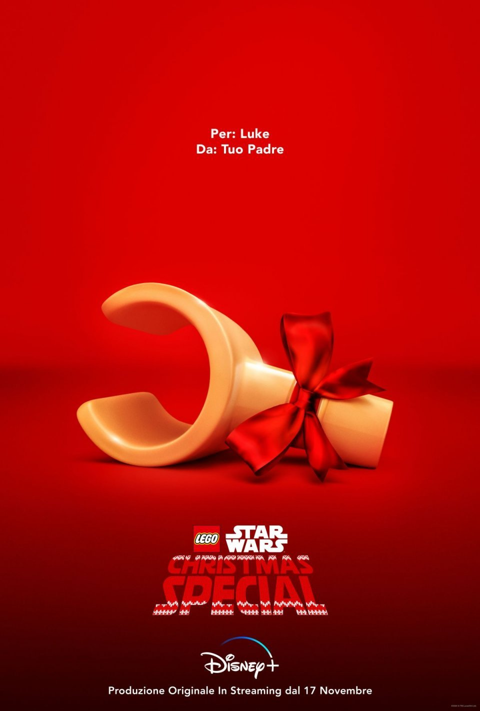 Lego Star Wars Christmas Special Poster