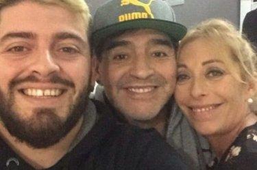 Diego Armando Maradona Cristiana Sinagra Figlio