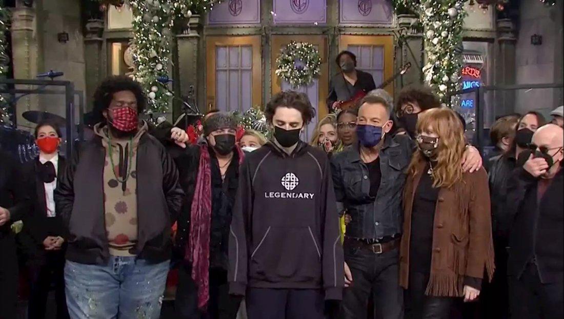 Timothee Chalamet Saturday Night Live