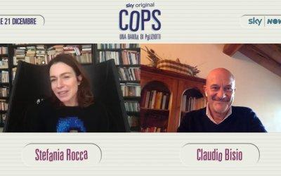 """Claudio Bisio protagonista di Cops: """"La serie fa con il poliziesco quello che Boris ha fatto per la fiction"""""""
