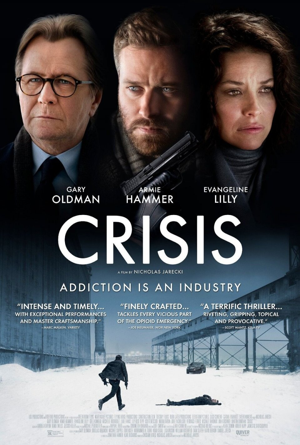 Crisis Movie Poster Gary Oldman