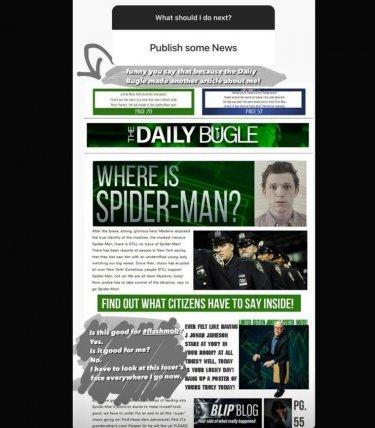 Spider Man 3 Scomparda Spider Man