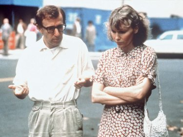 Woody Allen Mia Farrow Hannah And Her Sisters