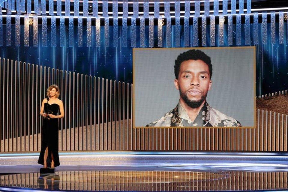 Chadwick Boseman Golden Globe 2021