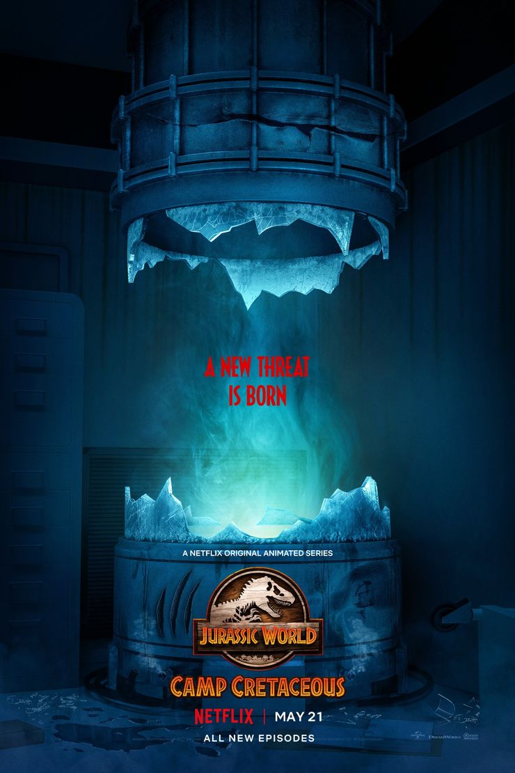 Jurassic World Camp Cretaceous Season 3 Poster 2