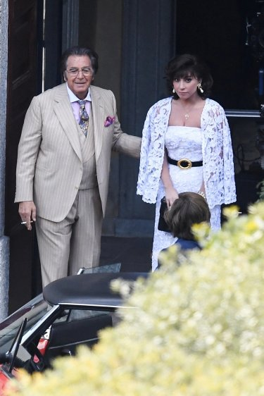 House Of Gucci Al Pacino Lady Gaga