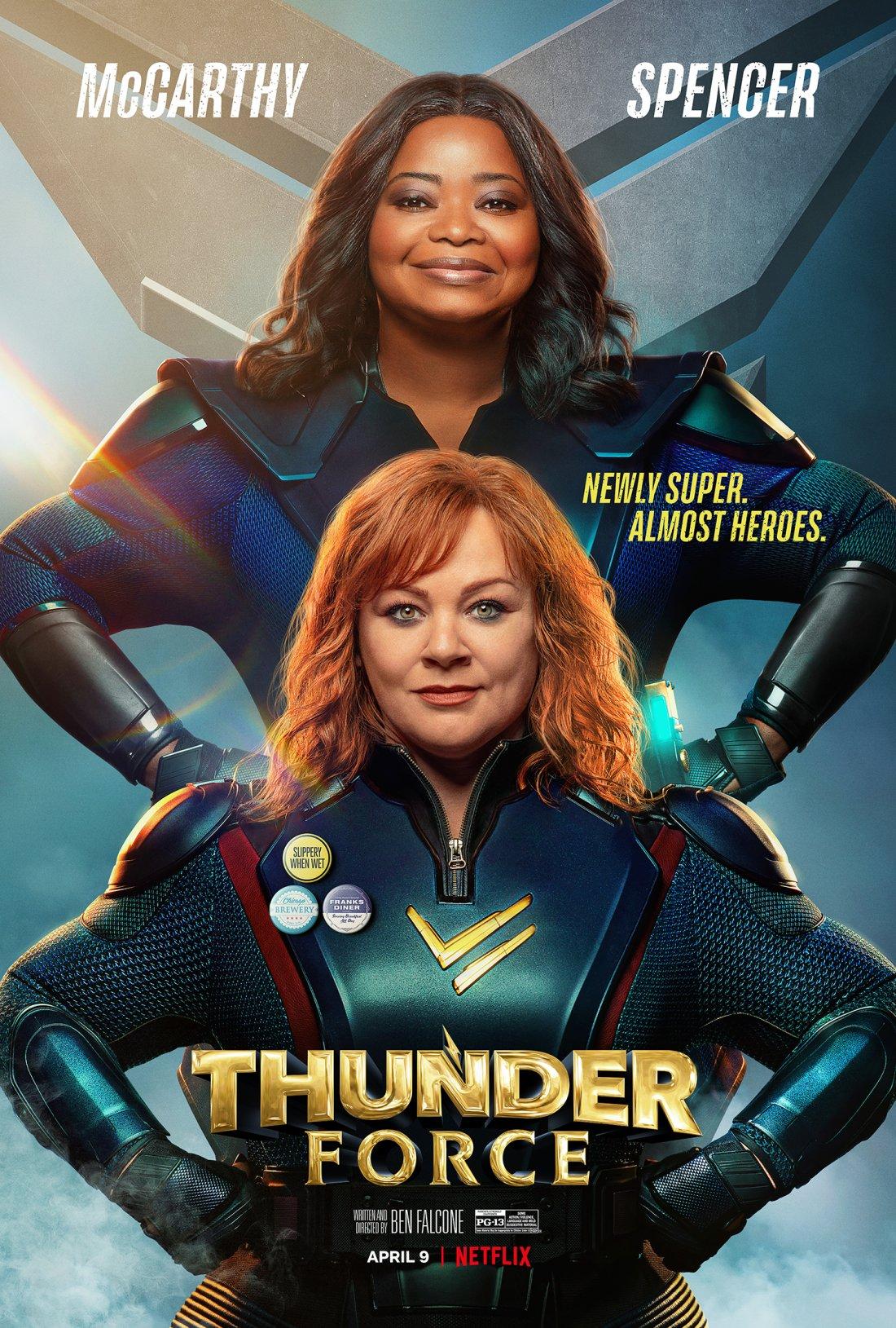 Locandina di Thunder Force: 532286 - Movieplayer.it
