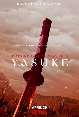 Yasuke Poster Anime 2021 Netflix