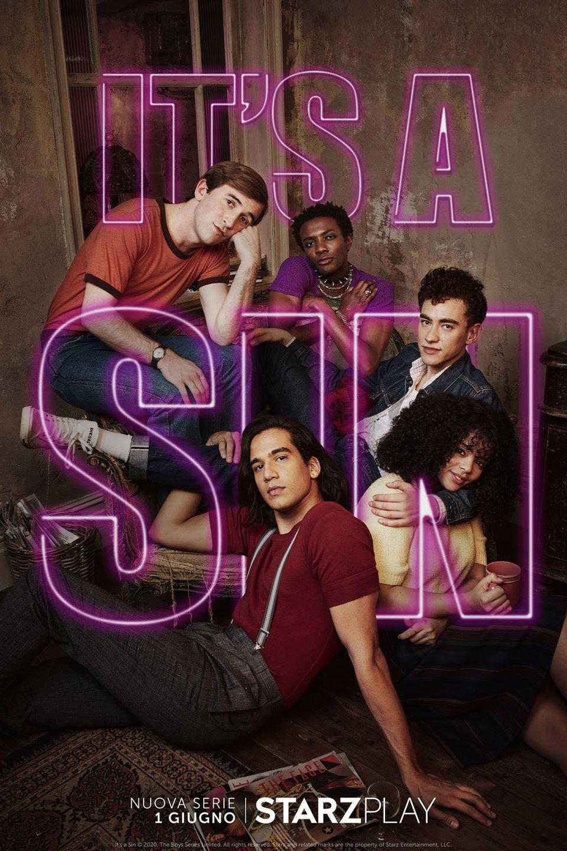 It S A Sin Poster Italiano