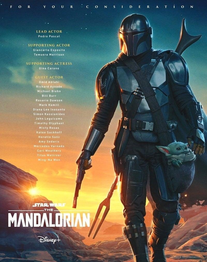 The Mandalorian Poster Emmy