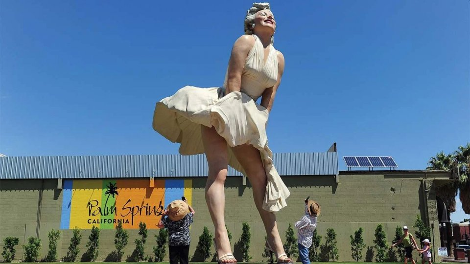 Marilyn Monroe Statua