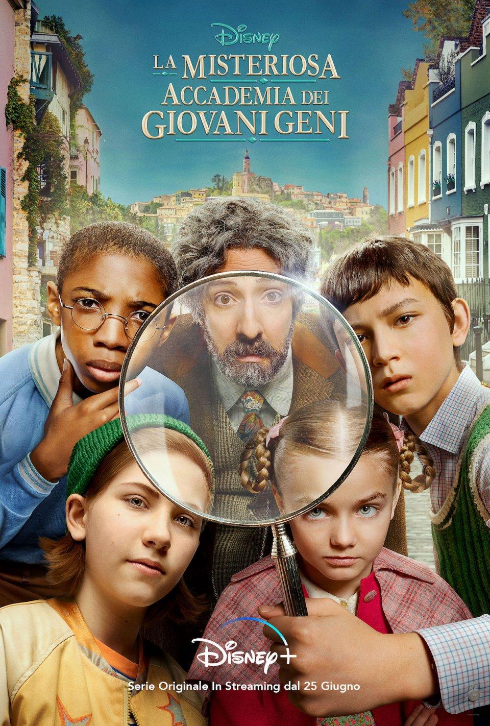 La Misteriosa Accademia Dei Giovani Geni Poster