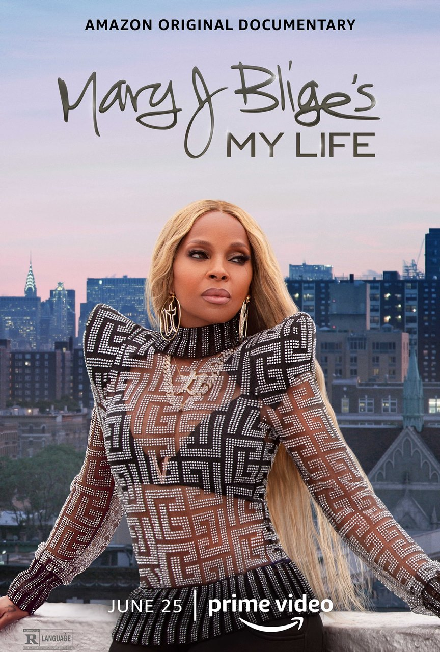 Mary J Blige   My Life Poster