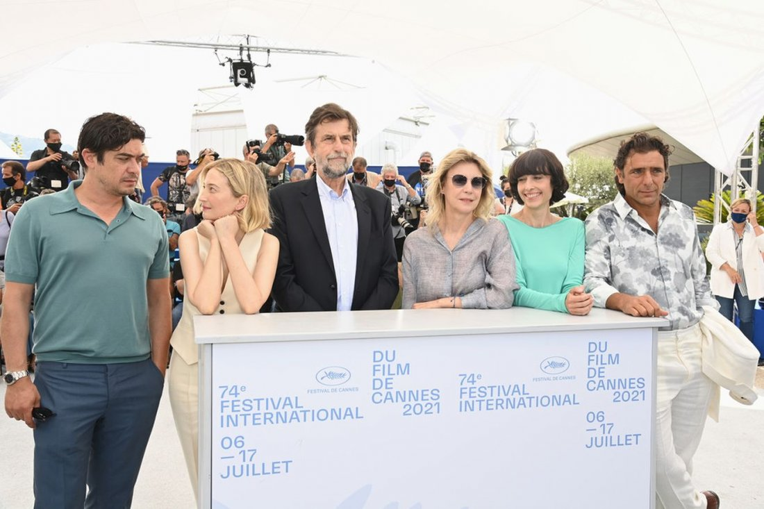 Nannimorettitrepiani Cast Cannes 2021