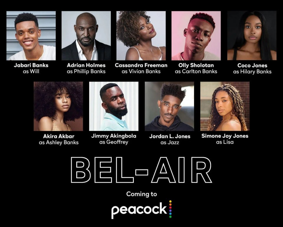Bel Air Reboot Cast Announced By Peacock
